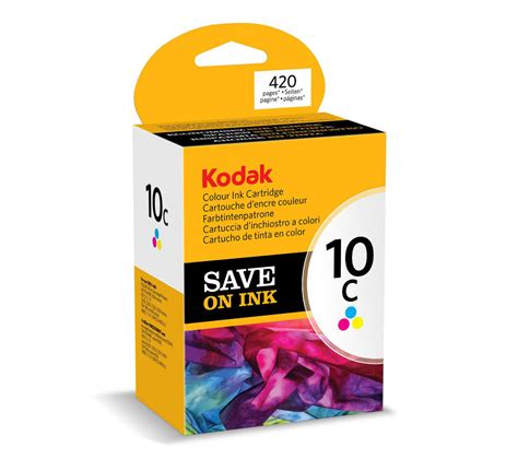 Print On The Go With No Ink Cartridges by Kodak 10c Tri Colour Ink Cartridge Deals Pc World