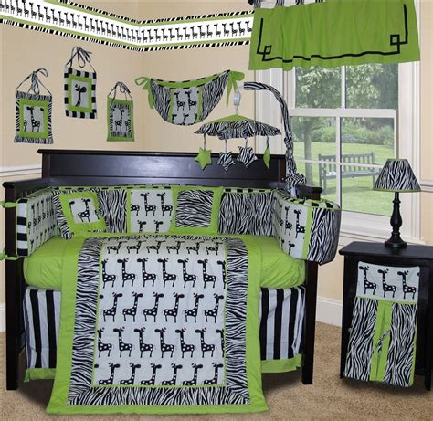 zebra baby crib bedding baby boutique lime zebra 13 pcs crib nursery bedding