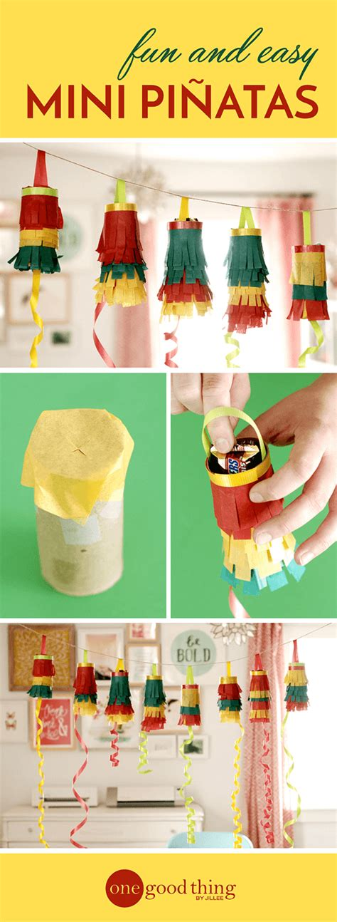 How To Make A Candy Vase Make These Quick Amp Easy Mini Pi 241 Atas For Cinco De Mayo