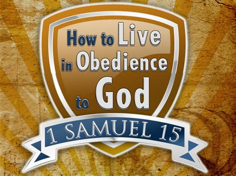 how to obedience to a how to live in obedience to god on vimeo