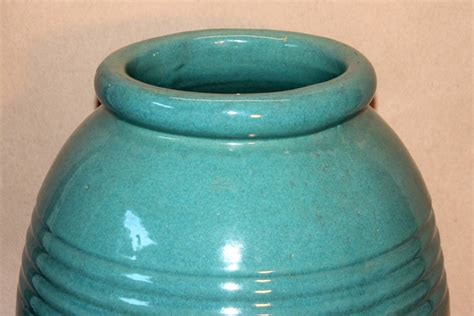 Outdoor Pottery Vases by Large Vintage Bauer California Pottery Garden Urn Jar
