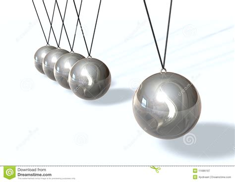 swinging balls on desk swinging royalty free stock photography image 11686197
