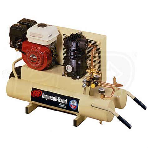ingersoll rand  hp  gallon gas wheelbarrow air compressor  honda engine ingersoll rand