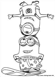 How to Draw Stuart the Minion Dressed as a Girl from