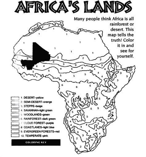 coloring page map of south africa enviroment color pages coloring pages for kids