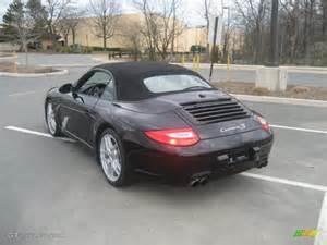 2009 Porsche 911 S Cabriolet Black 2009 Porsche 911 S Cabriolet Exterior Photo