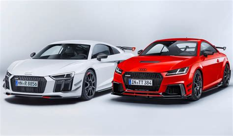 audi racing audi sport announces racy performance parts accessories