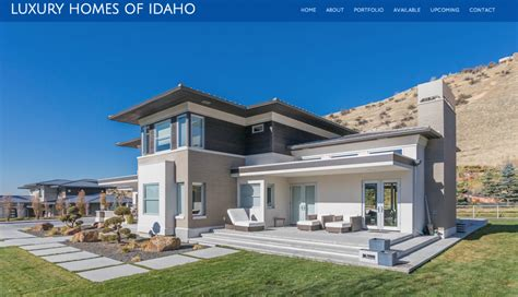 Luxury Homes In Boise Idaho Luxury Homes Of Idaho 187 Web Design Boise