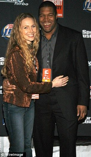 michael strahan and his wife michael strahan allegedly paid hush money to ex wife s