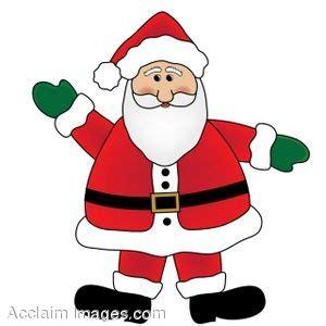 anmated waving snata clip of santa claus wearing mittens and waving
