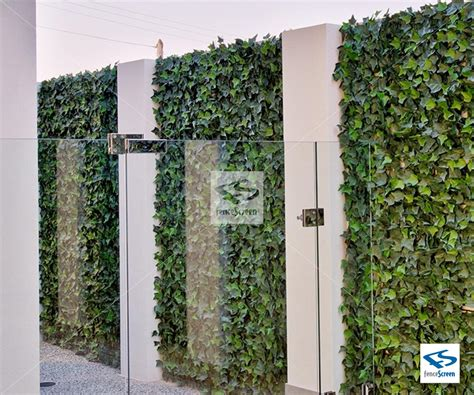 Efeu Wand by Artificial Green Leaf Mat Wall Panels By Natrahedge