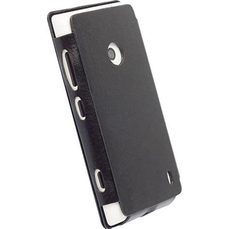Krusell Malmo Flipcase Blackberry Q20 Classic Black digitalsonline krusell flip dons 246 book cover nokia lumia 520 525 zwart