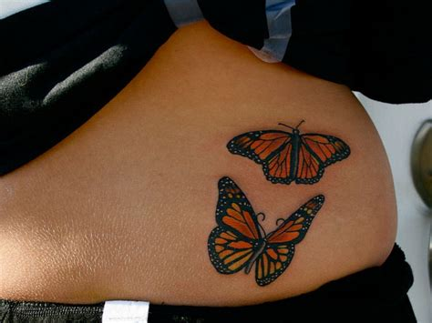 butterfly tattoo hip 100 images small 3d monarch butterfly on shoulder