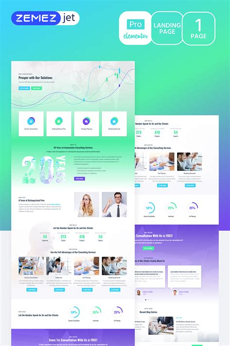 Solutt Corporate Business Pro Elementor Template 70216 Elementor Pro Templates