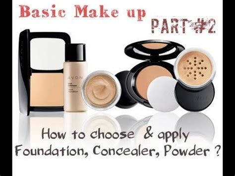 Try Before You Buy Part Iiifoundation Conceal by Basic Make Up Part Ii Quot How To Chose Apply Foundation