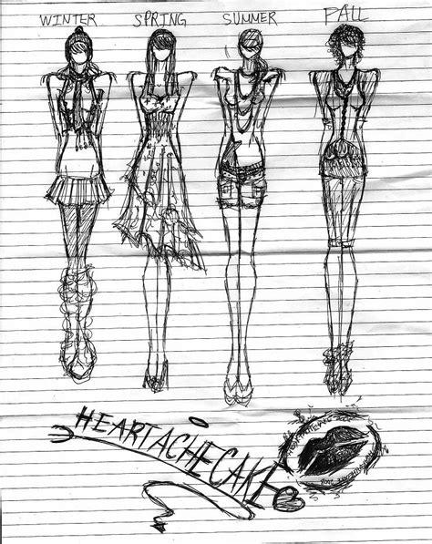 doodle design draw fashion fashion doodles by heartachecake on deviantart