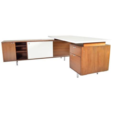 herman miller desk l george nelson for herman miller l shaped executive desk