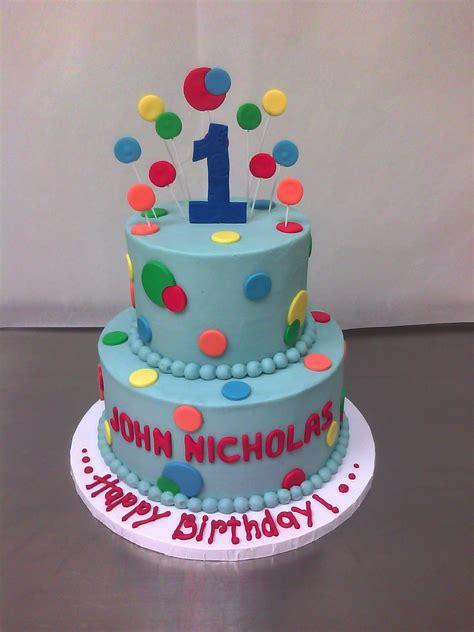 1st Birthday Cake by 1st Birthday Cake Made Custom Cakes