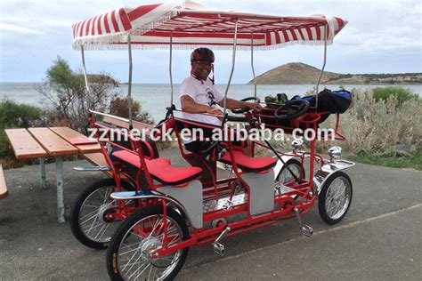 10 Person Bike For Sale - tandem bicycle four wheel surrey bike with canopy buy