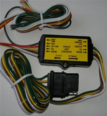 4 pin 5 pin 6 pin trailer wiring which one gl1800riders