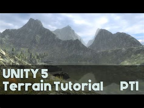 tutorial unity 5 unity 5 landscape tutorial pt1 youtube