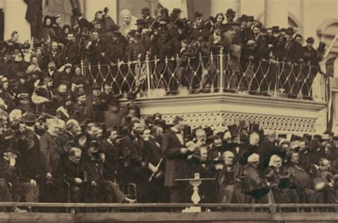 all the presidents tables abraham lincoln s inaugural remembering lincoln s second inauguration history in the