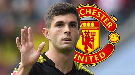 christian pulisic man u january transfer news rumours man utd ready 500m