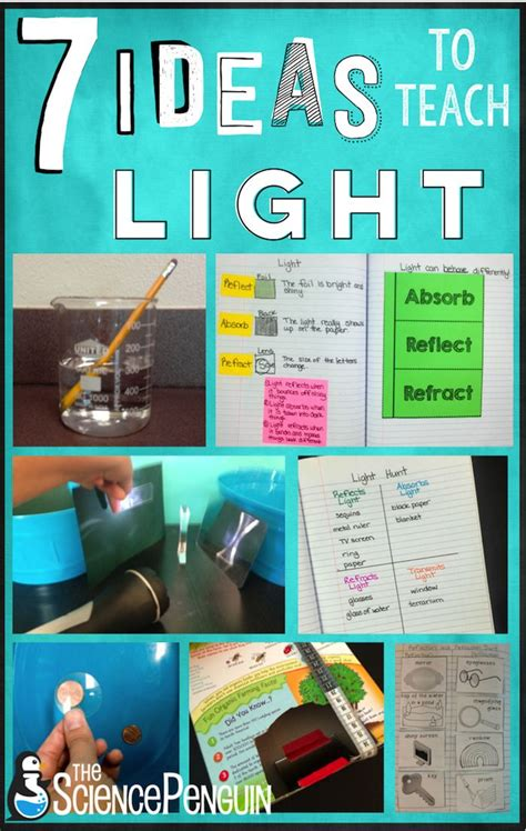 science project on light 54 best light energy images on physical