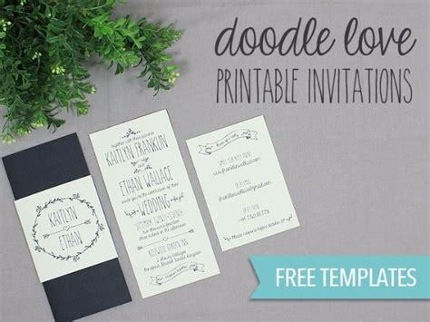 diy invitations templates free 27 fabulous diy wedding invitation ideas diy