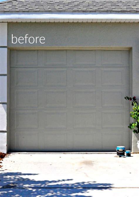 What Paint To Use On Garage Door Wood Painted Garage Doors Home