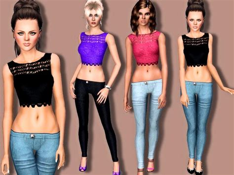 sims 3 teen beach movie outfits margeh 75 s spring fashion
