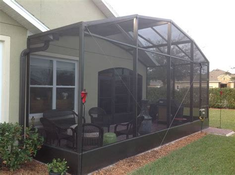 Screen For Patio Enclosure by 25 Best Ideas About Screen Enclosures On
