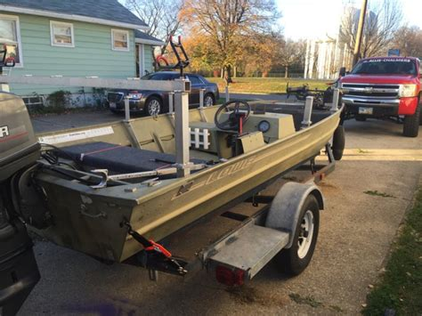 grizzly catfish boat 17ft jon boat ohio game fishing your ohio fishing resource