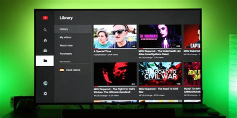 android layout like youtube xda developers youtube on android tv gets redesigned now