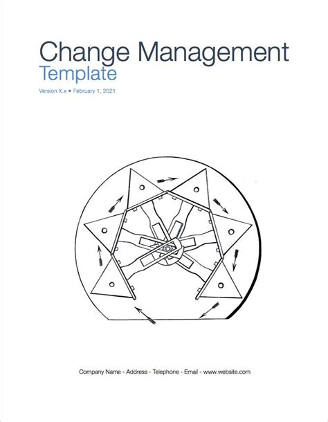 Change Management Plan Template Apple Iwork Pages Change Page Template