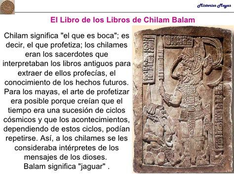 libro el libro que har clase 3 profecias mayas chilam balam