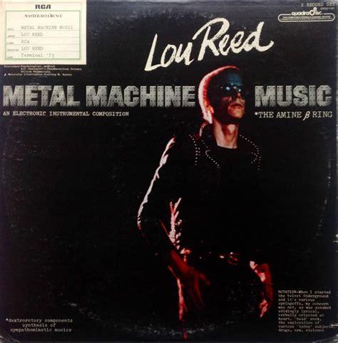 Vinyl Lou Reed lou reed metal machine vinyl lp album at discogs
