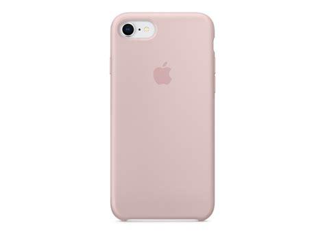 funda silicone case  iphone    rosa arena de apple