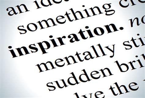 inspiration for inspiration