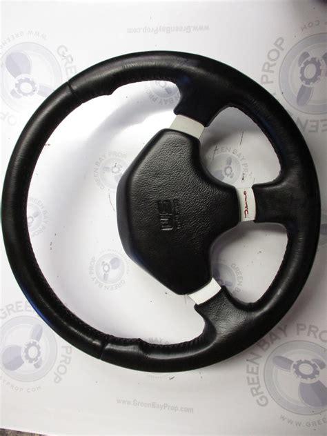 dino boat steering wheel bayliner capri u s marine dino boat steering wheel 13 5
