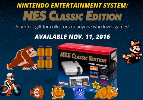 where to preorder the nintendo entertainment system nes classic edition in the usa guide ocala post mini nes classic edition system coming soon pre order avaialble