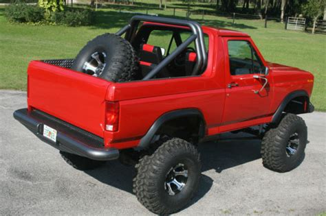 Custom Ford Bronco Ungu ford bronco suv 1986 for sale 1fmdu15n8glb04112 custom 1986 ford bronco