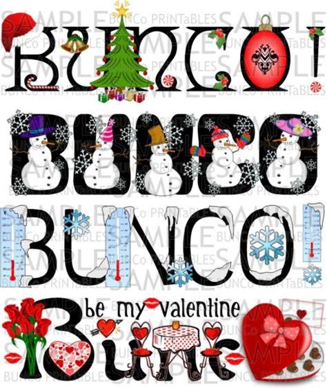 christmas bunco themes happy bunco bunco printables