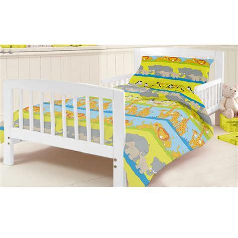Junior Cot Bed Duvet Set Ready Steady Bed Children S Cot Bed Junior Duvet Cover Bedding Set Cotbed Ebay