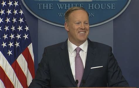 sean spicer last press conference trump white house promises heavy administration presence