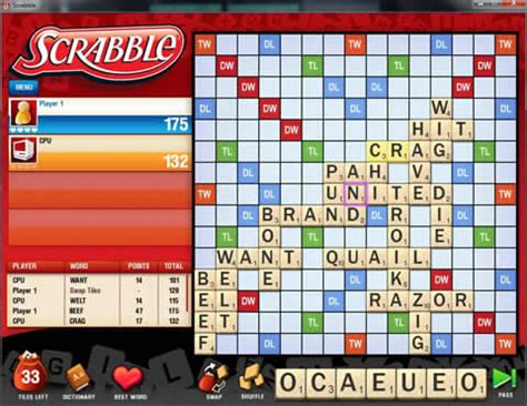 play scrabble free without downloading scrabble for pc play now