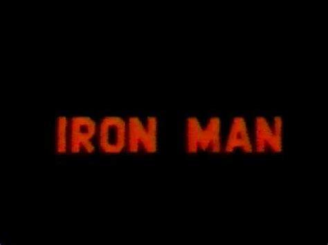 theme song iron man iron man theme song youtube
