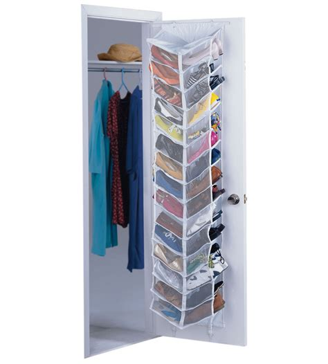 Closet Door Shoe Organizer In Over The Door Shoe Racks Closet Door Rack