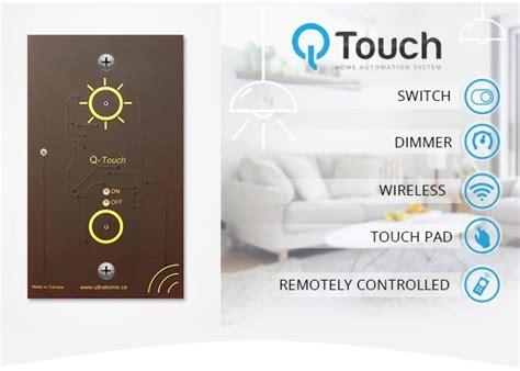 q touch home automation system hits kickstarter