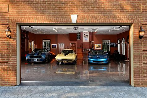 cool home garages garages of the rich and famous jeff s place